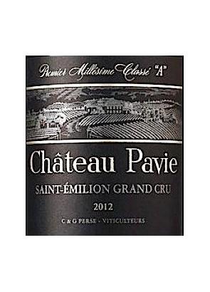 Primeurs Ch Pavie 2020